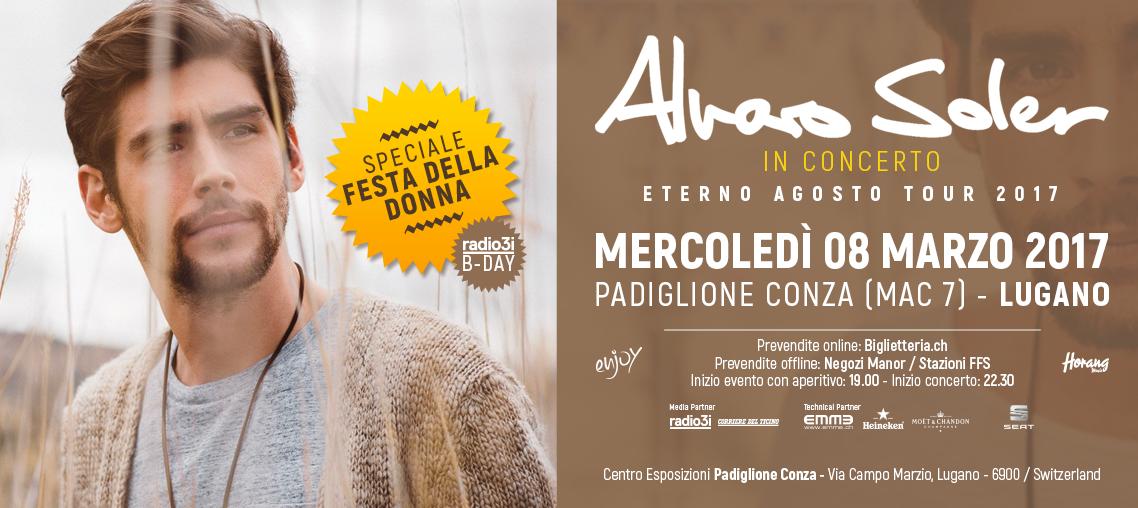 Alvaro Soler - Eterno Agosto Tour 2017