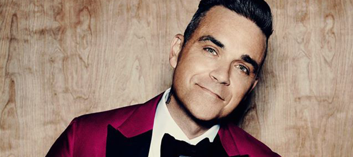 ROBBIE WILLIAMS in Heavy Entertainment Show