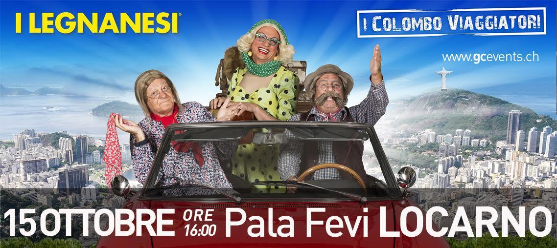 I Legnanesi - I Colombo Viaggiatori!