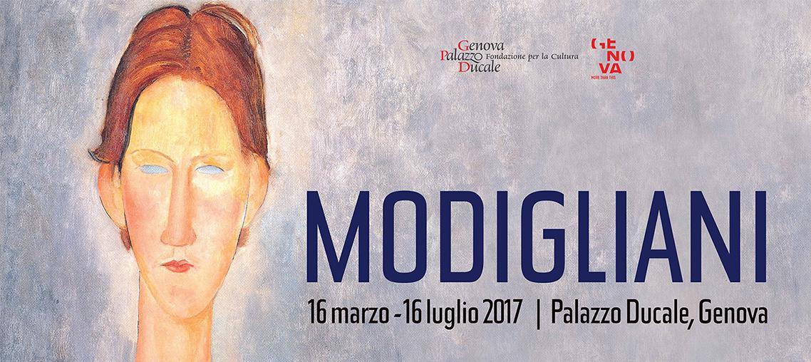 """Modigliani a Palazzo Ducale """"Genova"""""""