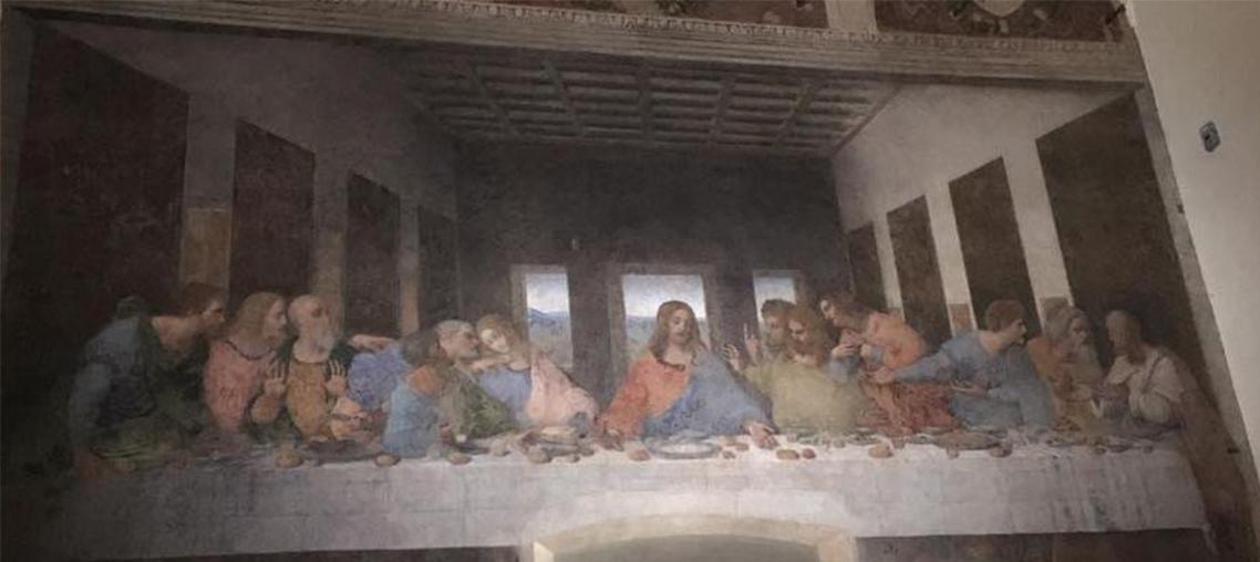 Il Cenacolo di Leonardo (patrimonio Unesco) e la Chiesa Santa Maria delle Grazie a Milano