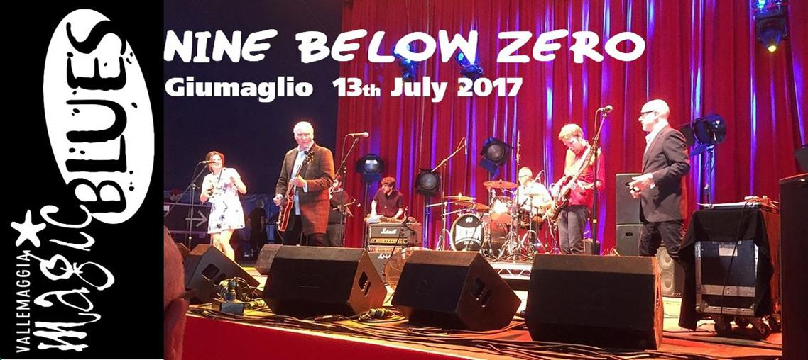 Nine Below Zero Big Band - Vallemaggia Magic Blues