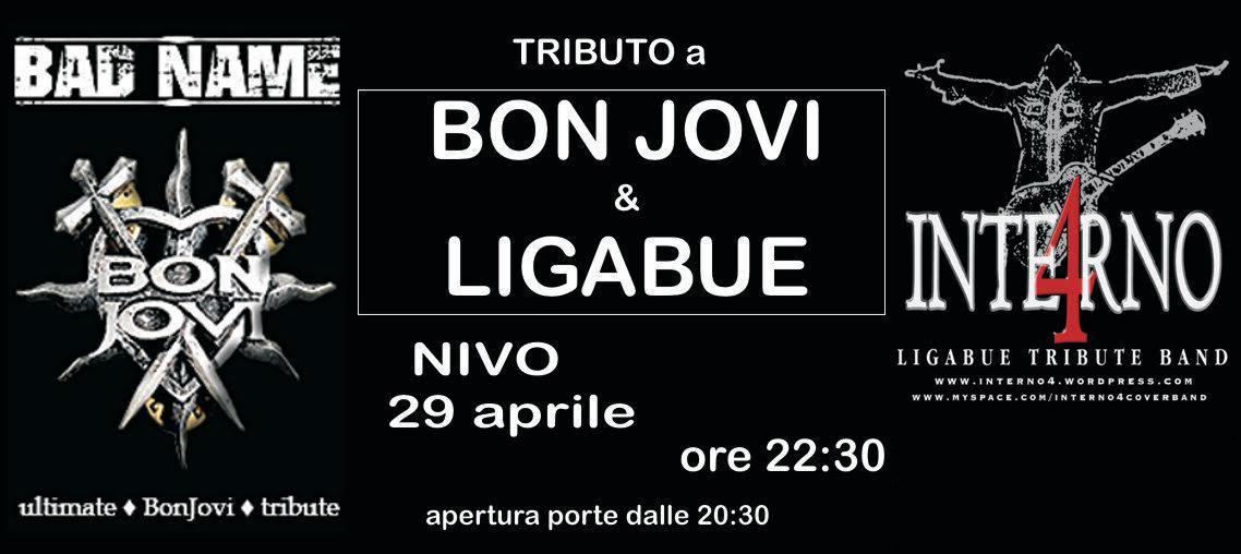 TRIBUTI (Bon Jovi - Ligabue)