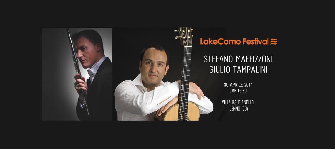 LakeComo Festival - Stefano Maffizzoni e Giulio Tampalini (Flauto - Chitarra)