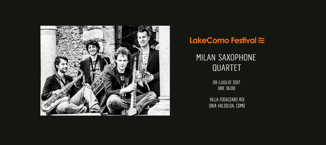 LakeComo Festival - Milano Saxophone Quartet