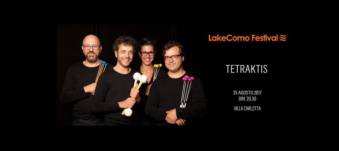 LakeComo Festival - Tetraktis Percussioni
