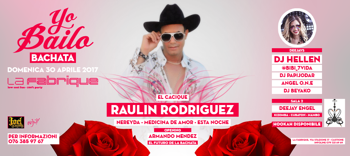 Yo Bailo Bachata - Raulin Rodriguez