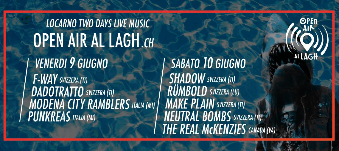 Open air al Lagh Locarno - 2 days Pass