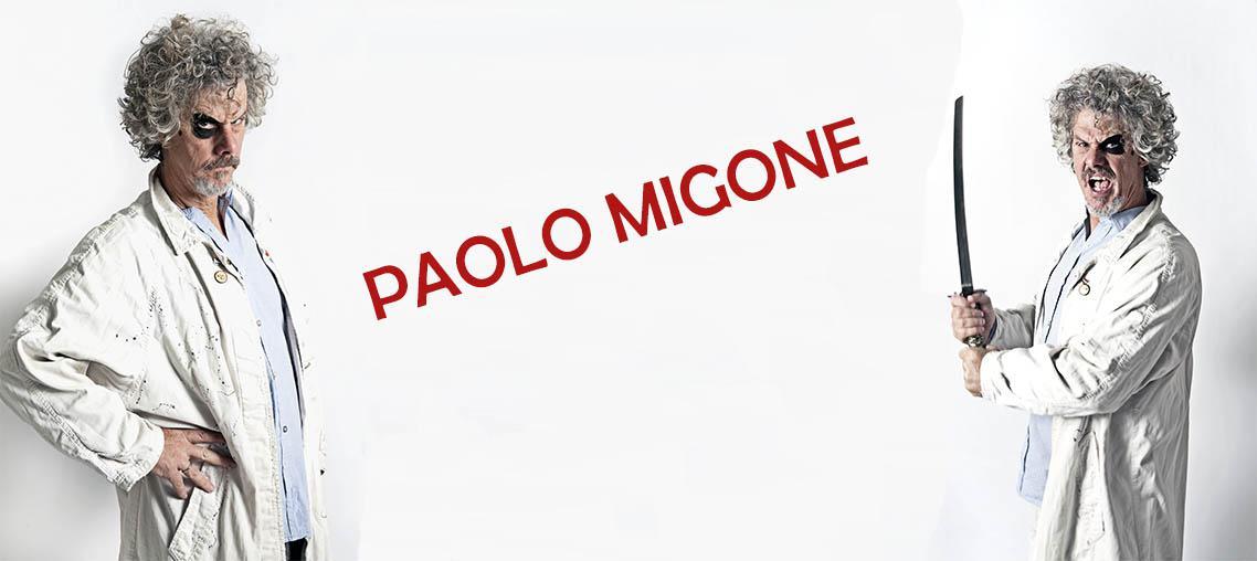 Cena con spettacolo di Paolo Migone