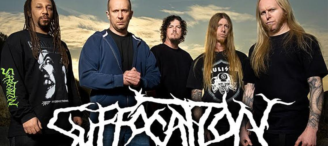 Suffocation european tour 2017