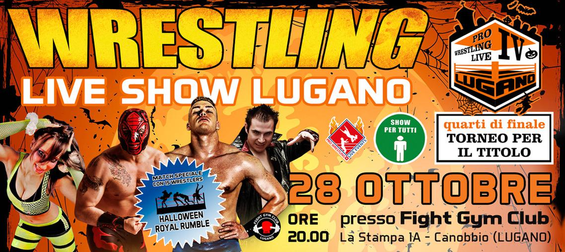 Pro Wrestling Live Lugano IV - Halloween Royal Rumble