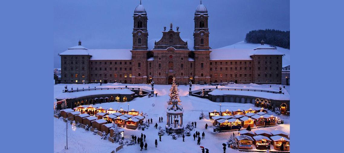 Mercatino natalizio di Einsiedeln