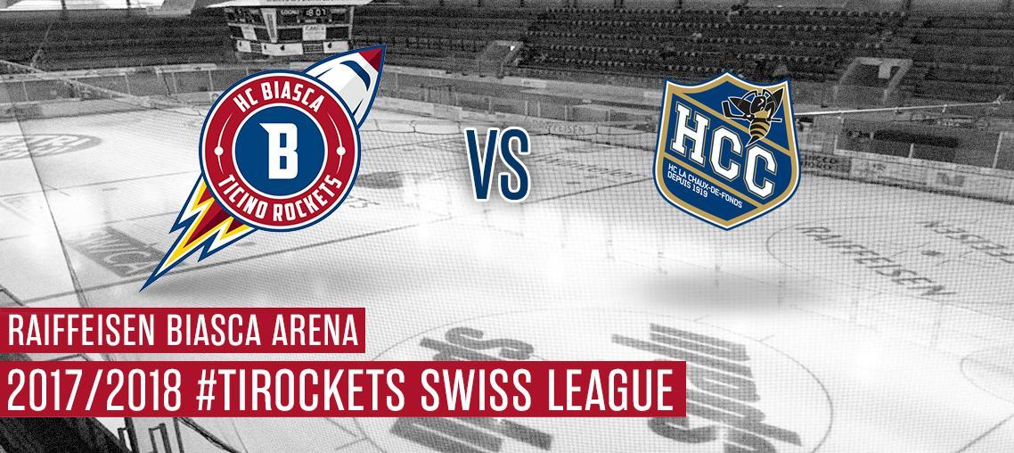 HCB Ticino Rockets - Chaux-de Fds