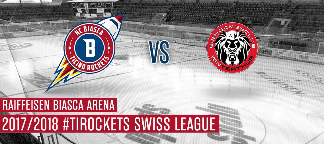 HCB Ticino Rockets - Winterthur