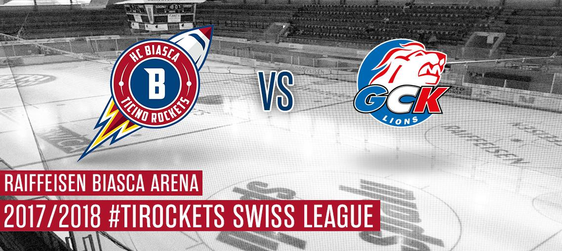 HCB Ticino Rockets - GCK Lions