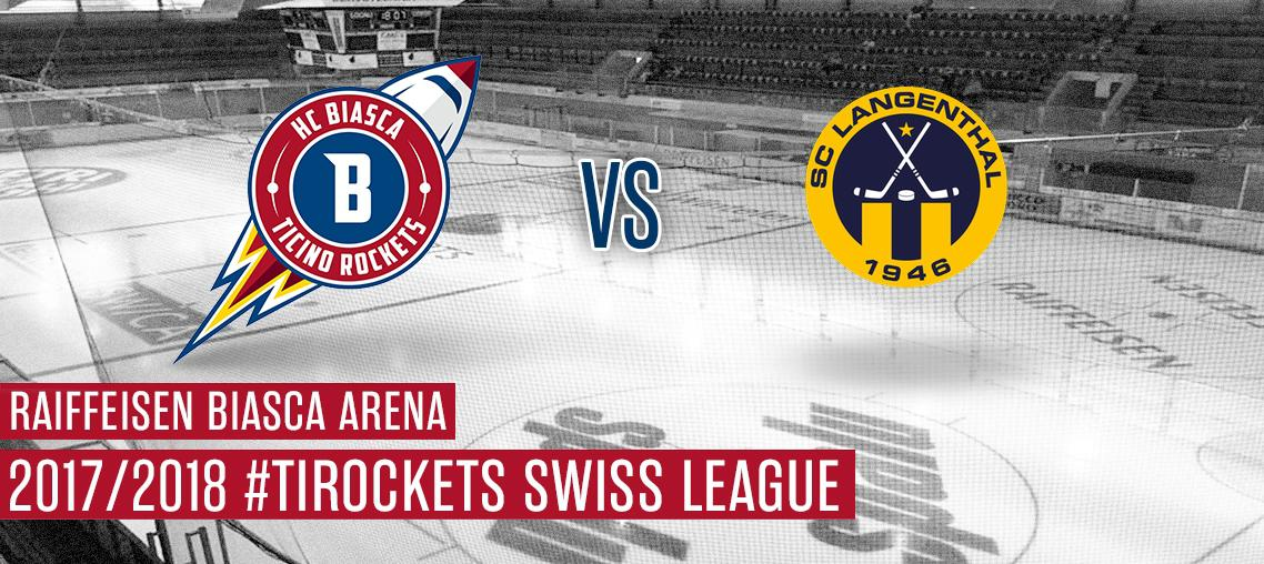 HCB Ticino Rockets - Langenthal
