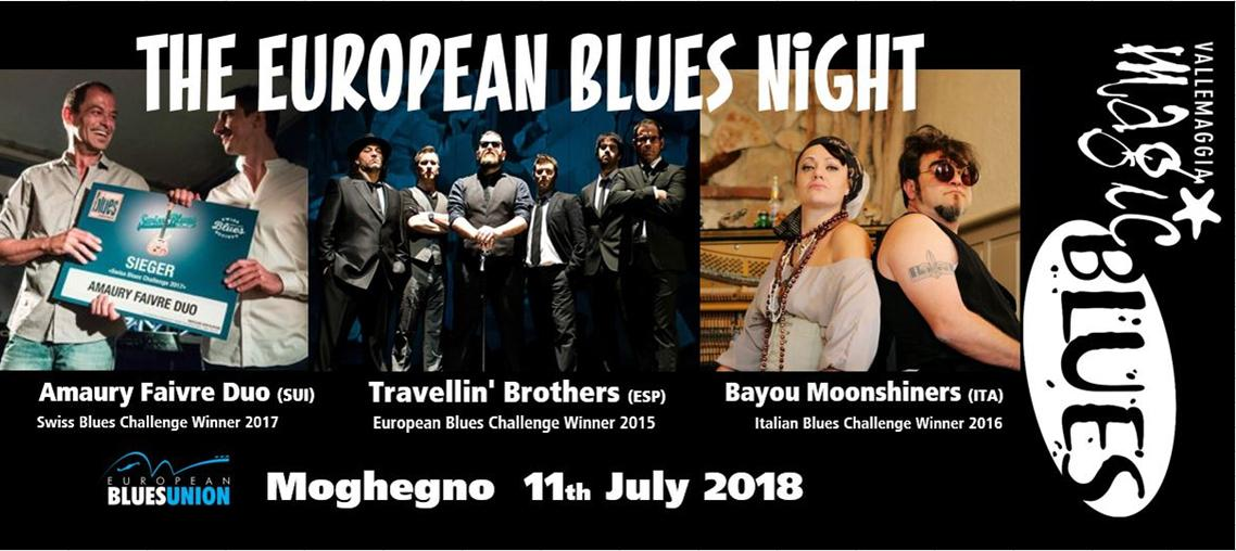Amaury Faivre Duo - Bayou Moonshiners - Travellin ' Brothers  - Vallemaggia Magic Blues