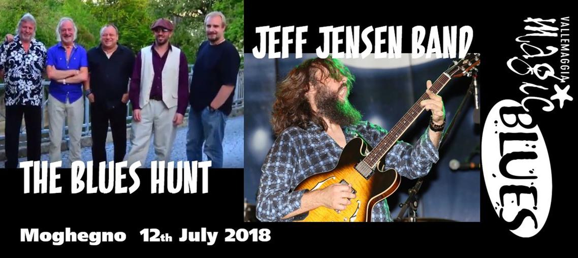 The Blues Hunt - Jeff Jensen Band - Vallemaggia Magic Blues