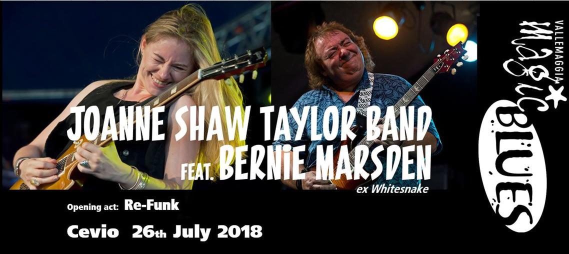 Joanne Shaw Taylor Band feat. Bernie Marsden - Vallemaggia Magic Blues