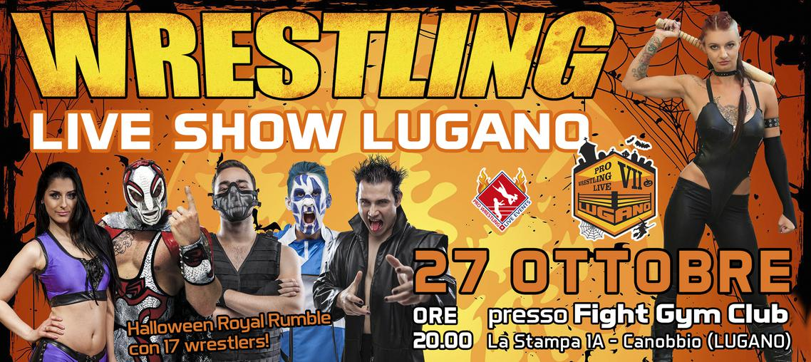 Pro Wrestling Live Lugano VII - Halloween Royal Rumble 2018