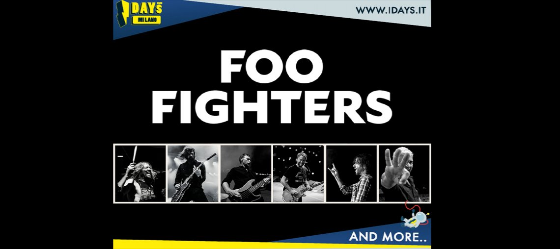 Foo Fighters - MIND Milano (Area Expo)